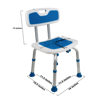 Picture of Padded Bath Safety Seat with Backrest