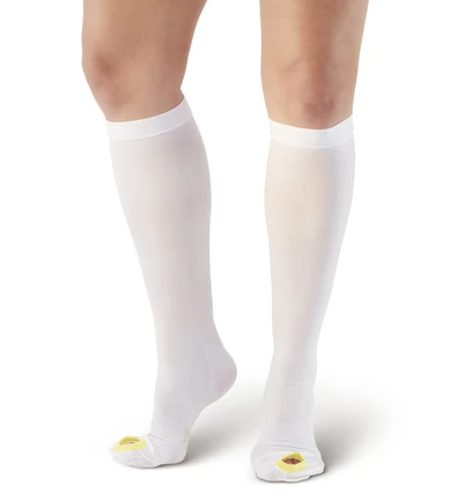 Picture of AW Style 400 Anti-Embolism Inspection Toe Knee High Stockings - 18 mmHg