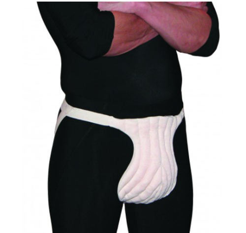 Picture of Male Genital Pad (with Straps) -XL