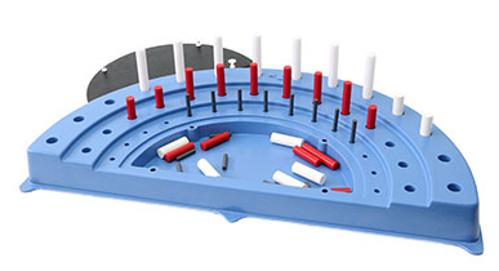 Picture of Semi-circular Peg Board