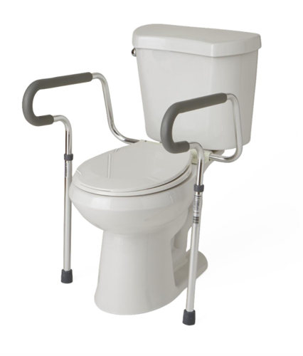 Picture of Medline Foldable Toilet Safety Rails