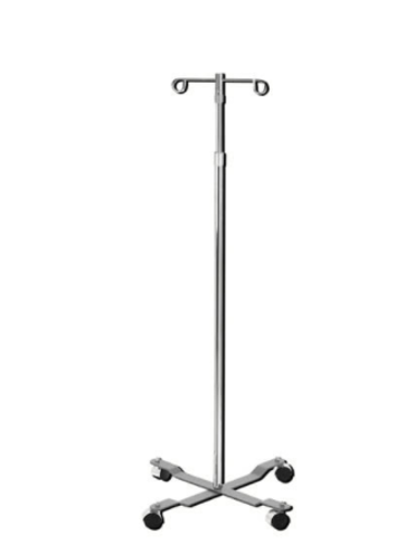 Picture of I.V. Stand 2-Hook - 4 Leg