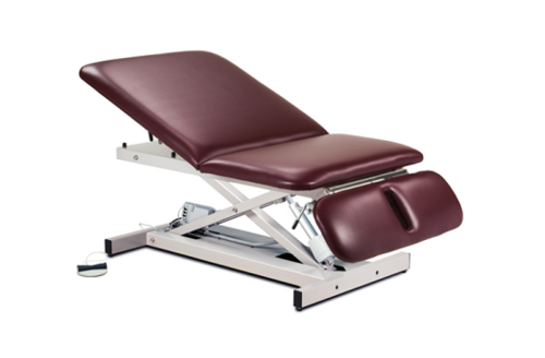 Picture of Extra Wide, Bariatric, Power Table with Adjustable Backrest and Drop Section