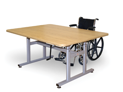 """Picture of Adjustable Group Therapy Table 48"""" x 66"""""""