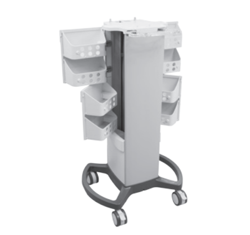 Picture of InTENSity Therapy  Cart, 6 Concealed Storage Baskets and 4 Swivel Casters