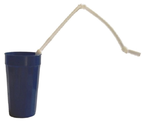 Picture of Flexible Super Long Drinking Straws Package of 10
