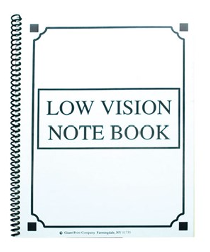 Picture of Low Vision Notebook - Thick Lines