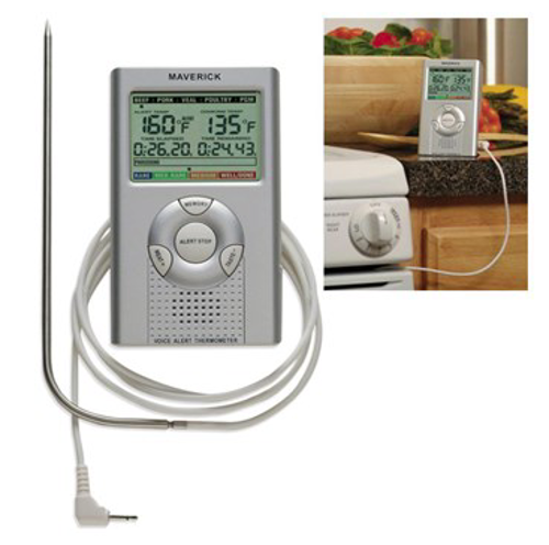 Picture of Voice Alert Talking Digital Thermometer with Probe