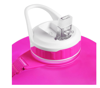 Picture of Gallon Water Bottle with Straw, Pink Turquoise