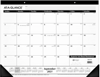 """Picture of AT-A-GLANCE 2021-2022 Academic Monthly Desk Pad Calendar, Standard, 21 3/4"""" x 17"""""""