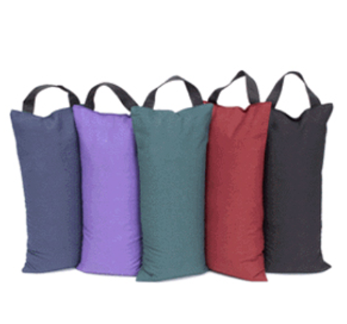 Picture of Unfilled Sandbag for Yoga and Pilates-Blue