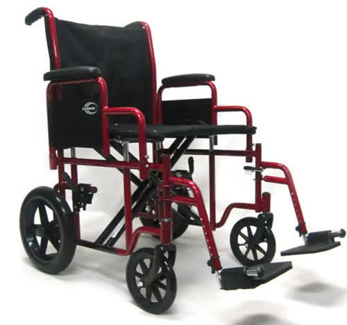 Picture of Deluxe Bariatric Transport Wheelchair ***OVERSIZED***