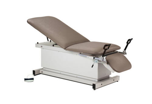 Picture of Shrouded, Power Table with Stirrups, Adjustable Backrest and Footrest
