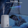 Picture of Homech Humidifiers, 2.5L Cool Mist Ultrasonic Humidifier with Warm Night Light-White