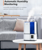 Picture of 4L Ultrasonic Cool Mist Bedroom Humidifiers