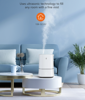 Picture of 4L Cool Mist Humidifiers, Quiet Ultrasonic Humidifier for Bedroom-White