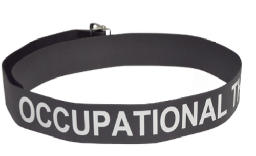 """Picture of Department Labeled Easi-Care Gait Belts- Vinyl-60"""""""